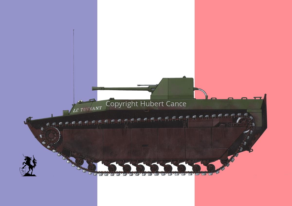 LVT4 40 mm Bofors (Flag #1) (large view)