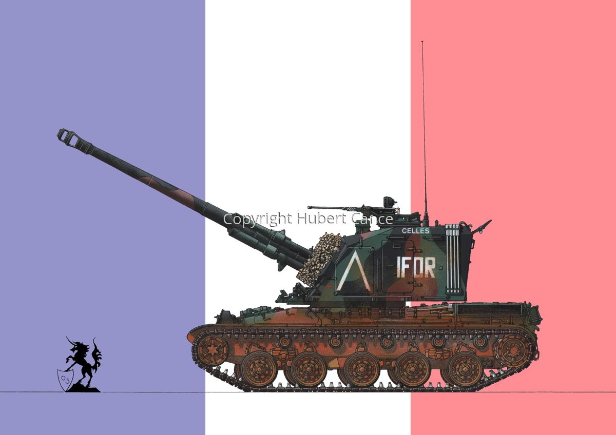 AMX 30 GCT 155 AUF-1 (Flag #1) (large view)