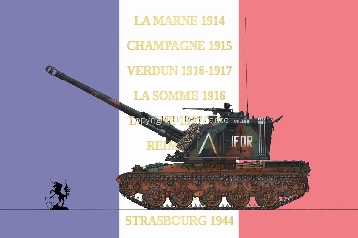 AMX 30 GCT 155 AUF-1 (Flag #2) (large view)