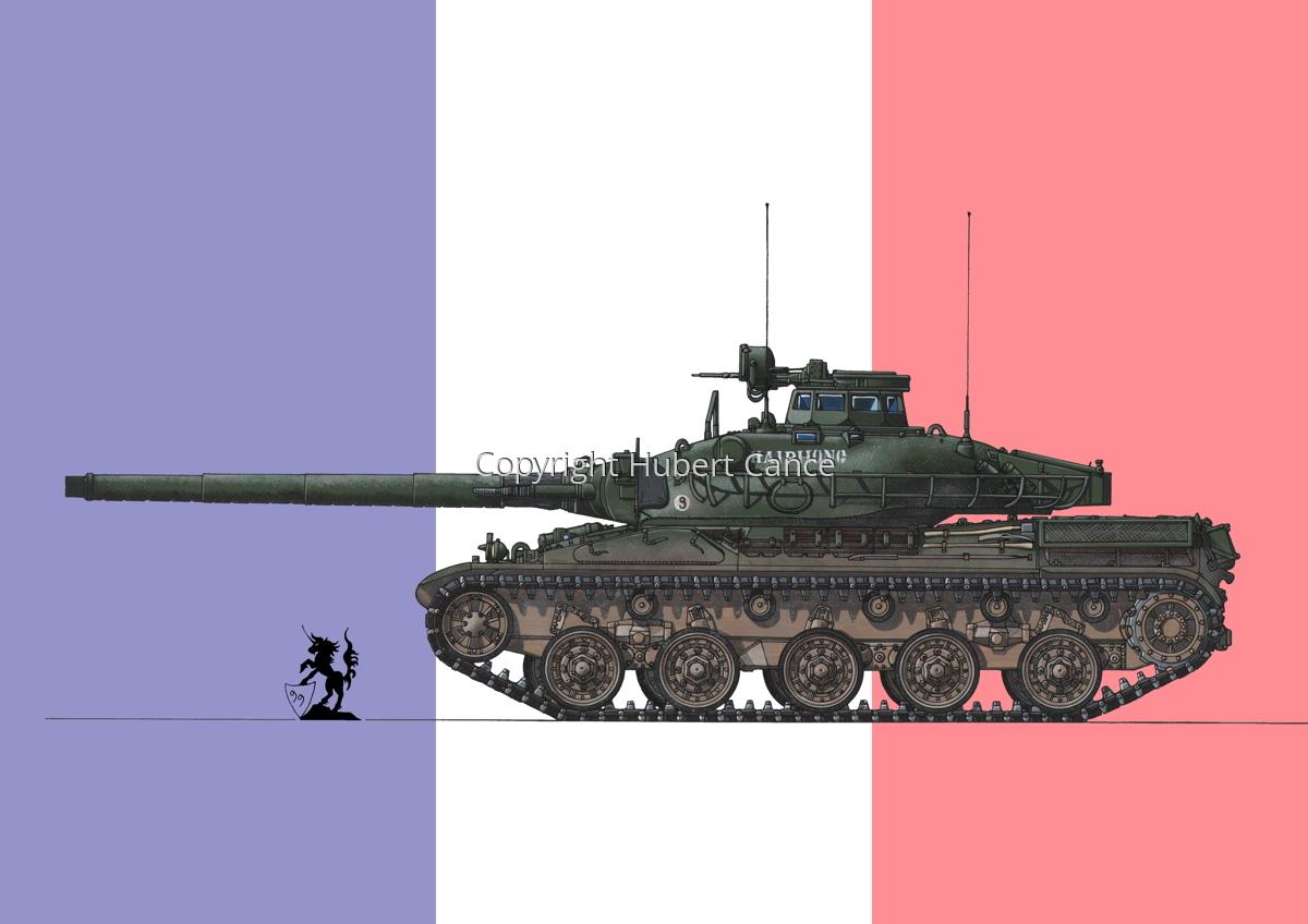 AMX 30B2 (Flag #1) (large view)