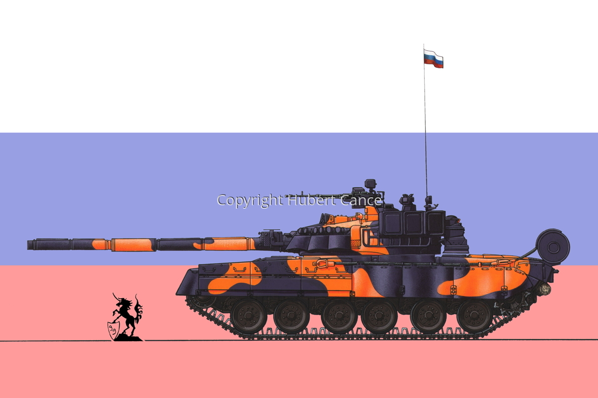 T-80UE (Flag #1) (large view)
