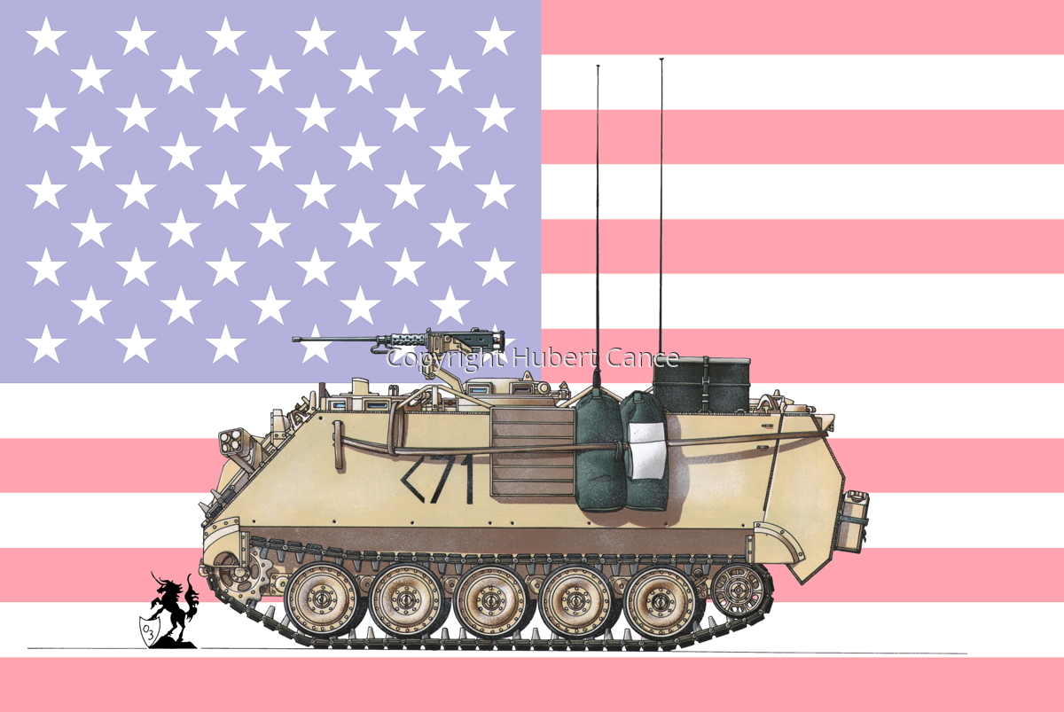 M113A3 (Flag #1) (large view)