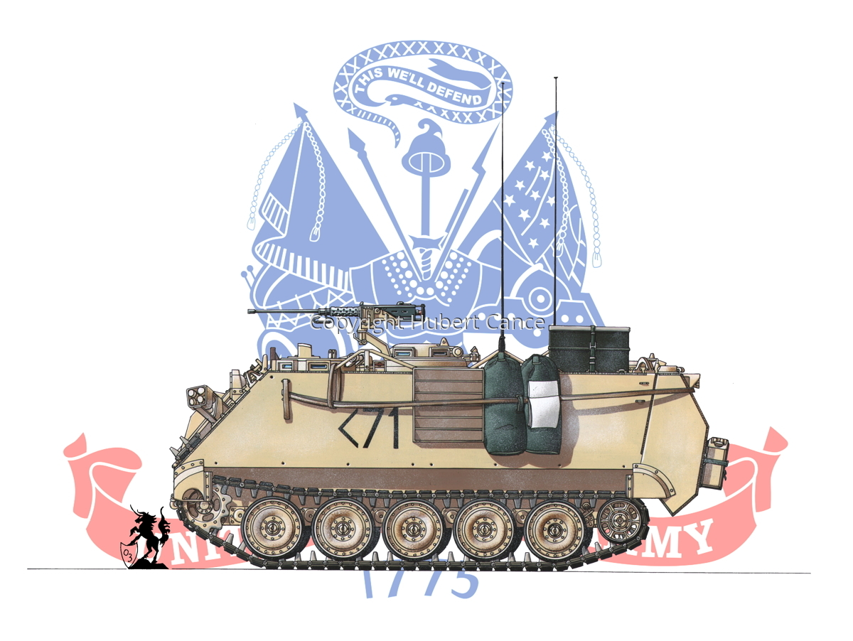 M113A3 (Flag #2) (large view)