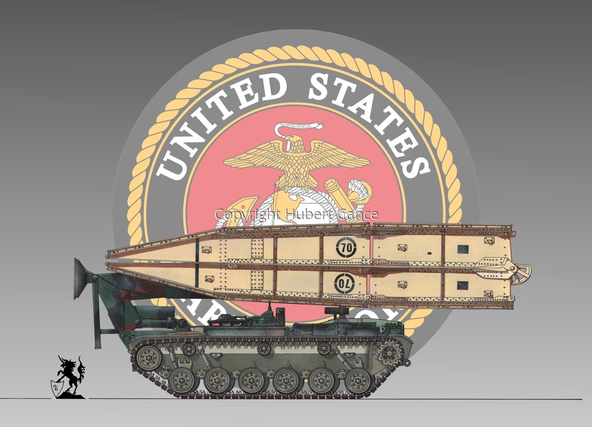 M60 AVLB Bridgelayer (Insignia #1) (large view)