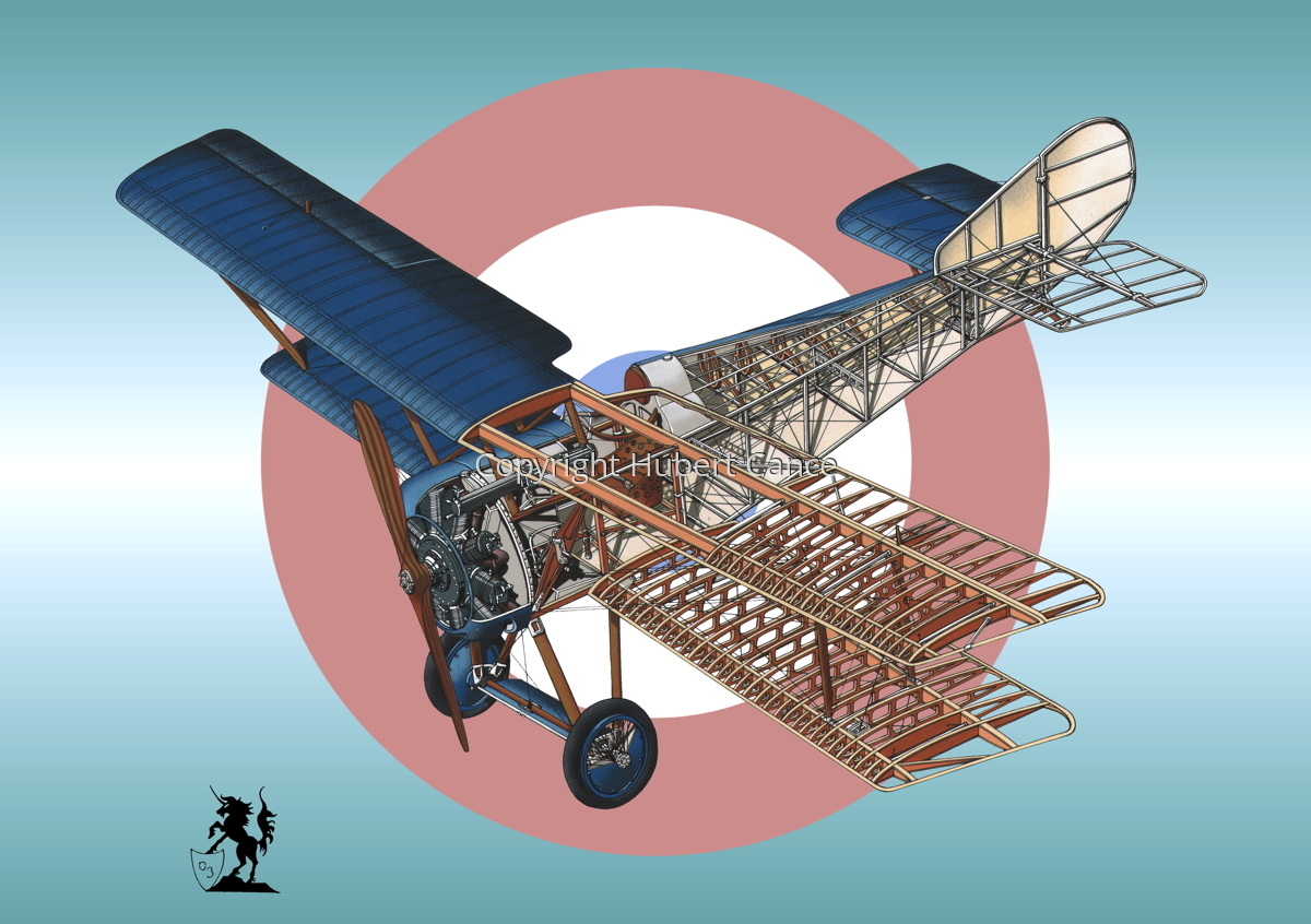 Hanriot HD.1 (Roundel #1) (large view)