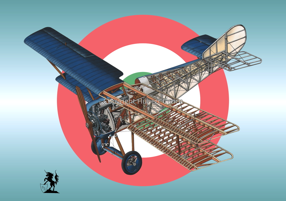 Hanriot HD.1 (Roundel #3) (large view)