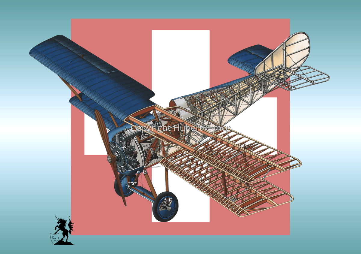 Hanriot HD.1 (Roundel #5) (large view)