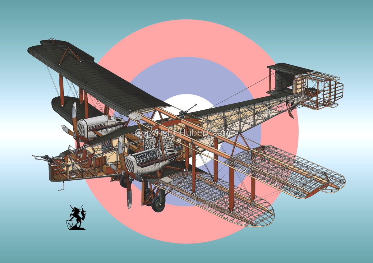 Handley Page O/400 (Roundel #2) (large view)