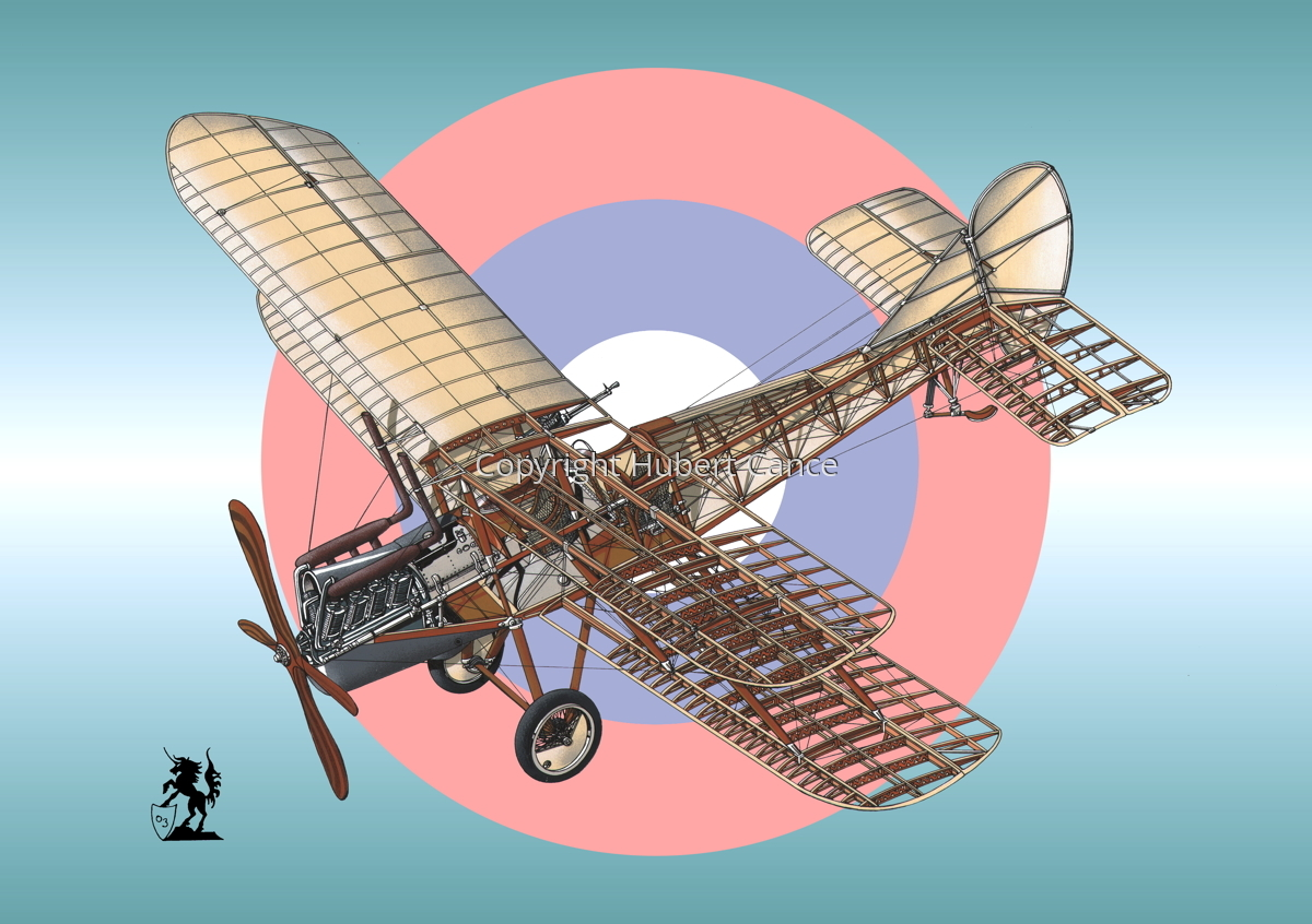 RAF Be.2c (Roundel #3) (large view)