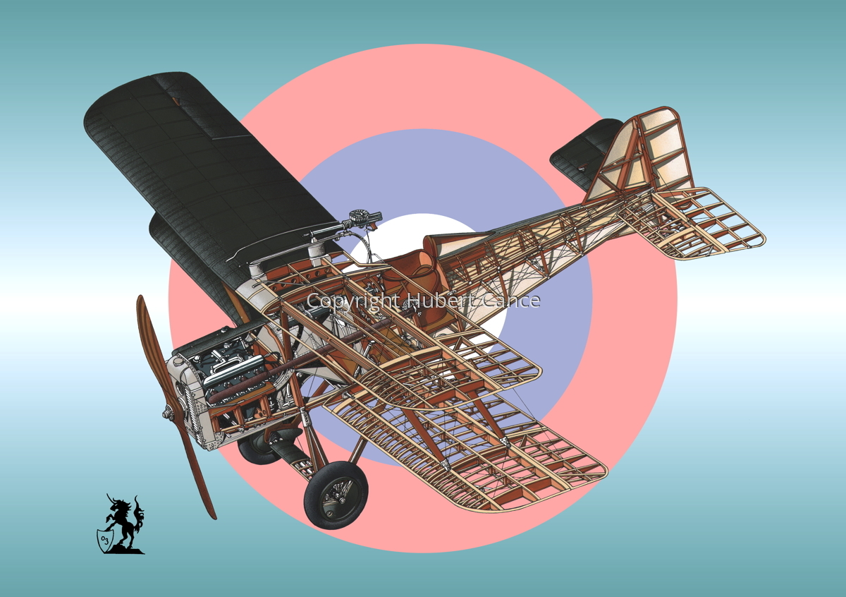 RAF SE.5a (Roundel #2) (large view)