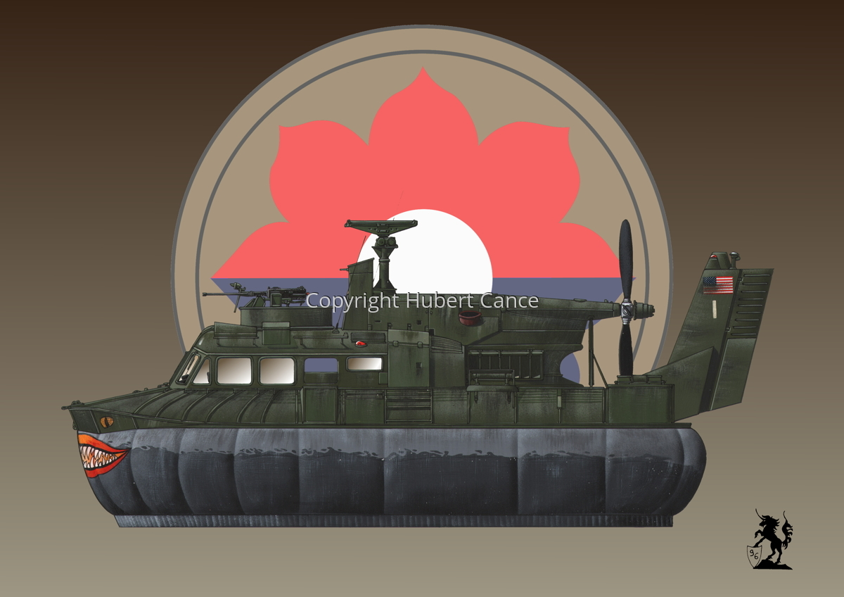 """Bell SK-5 ""Delta Monster"" PACV hovercraft (Insignia #3) (large view)"