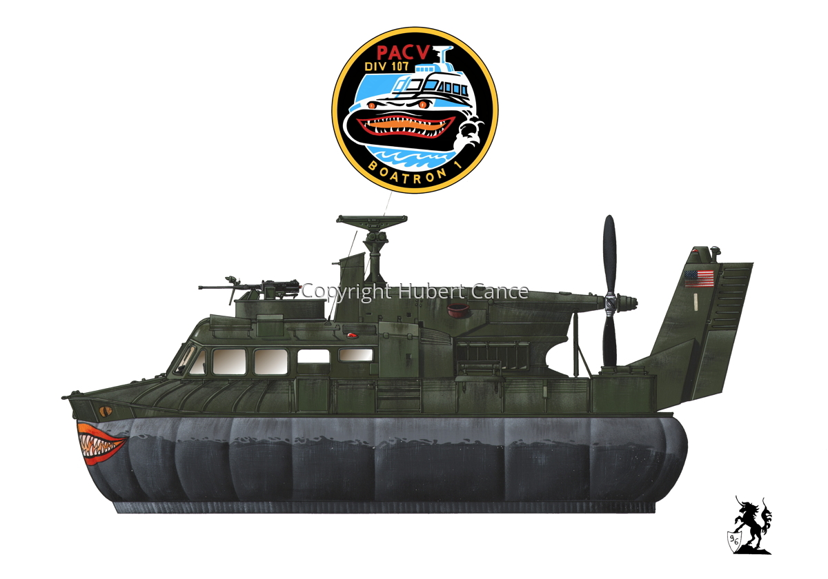 """""""Bell SK-5 """"Delta Monster"""" PACV hovercraft (Insignia #4.1) (large view)"""