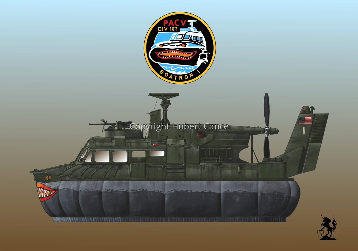 """""""Bell SK-5 """"Delta Monster"""" PACV hovercraft (Insignia #4.3) (large view)"""