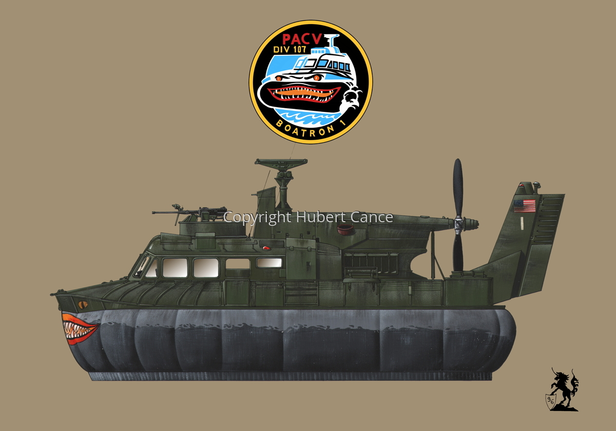 """""""Bell SK-5 """"Delta Monster"""" PACV hovercraft (Insignia #4.2) (large view)"""