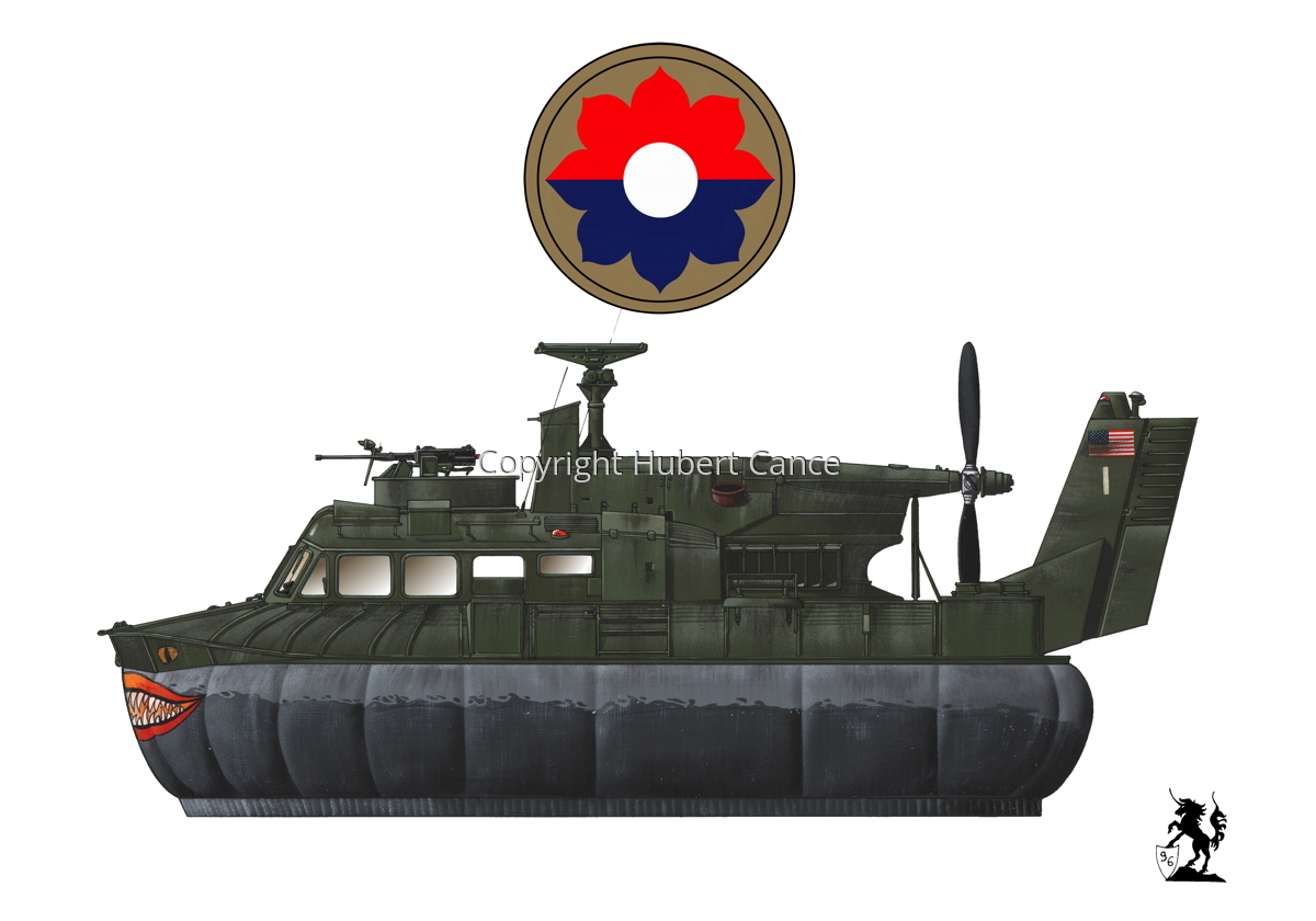"""Bell SK-5 ""Delta Monster"" PACV hovercraft (Insignia #3.1) (large view)"