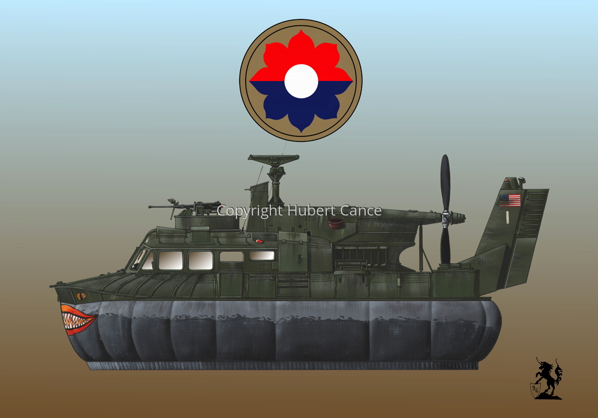 """Bell SK-5 ""Delta Monster"" PACV hovercraft (Insignia #3.3) (large view)"