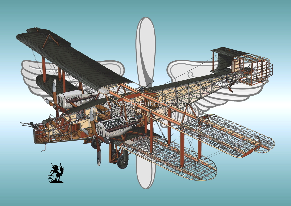 Handley Page O/400 (Insignia #1) (large view)