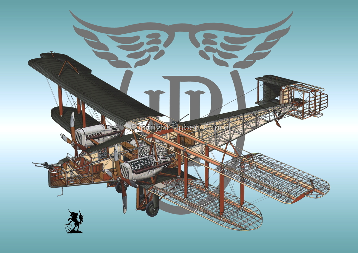 Handley Page O/400 (Logo #1) (large view)