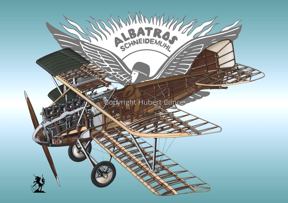 Albatros D.III (Logo #1) (large view)