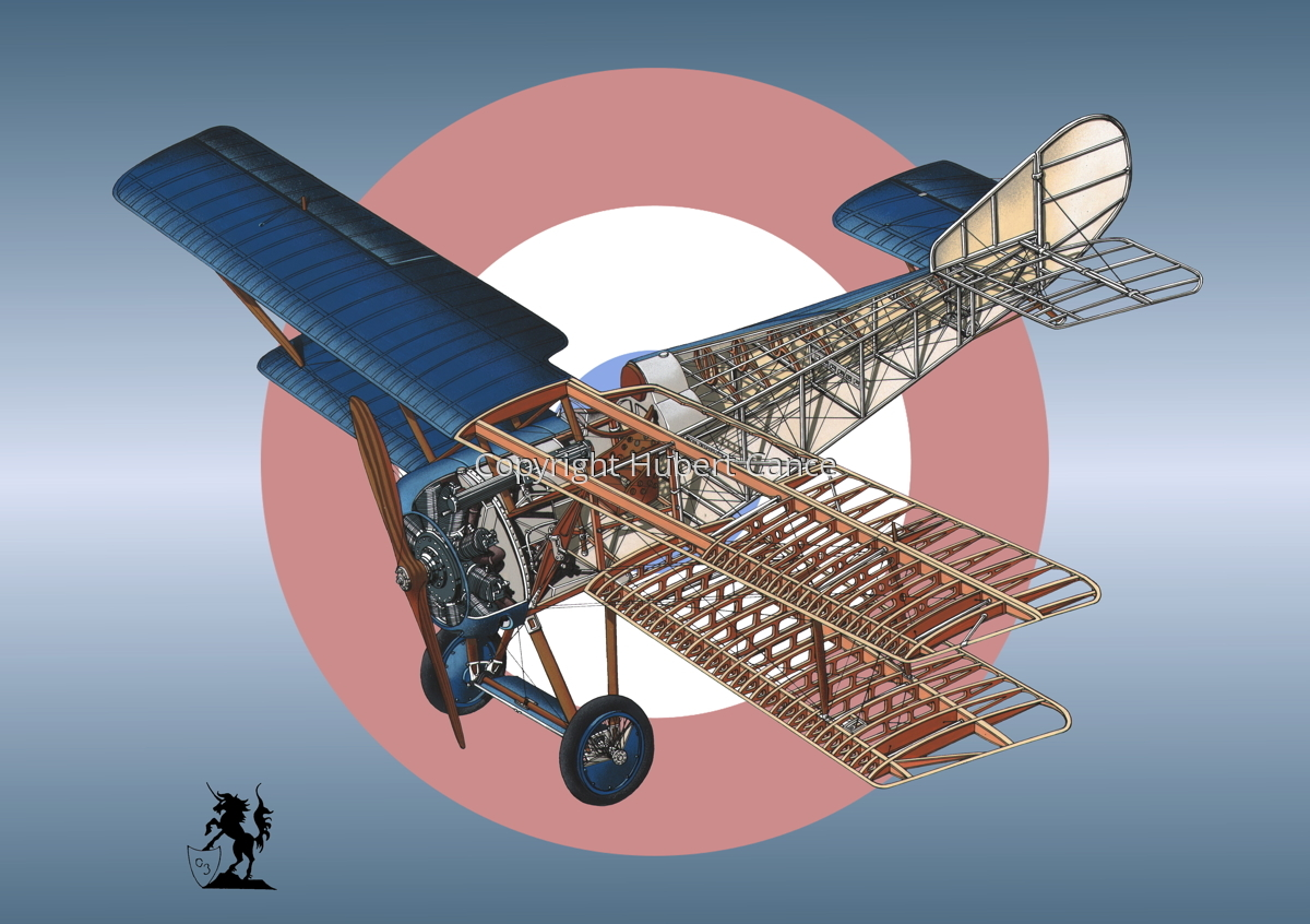 Hanriot HD.1 (Roundel #7) (large view)
