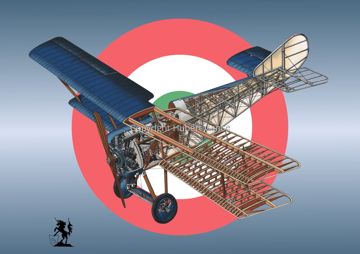 Hanriot HD.1 (Roundel #10) (large view)