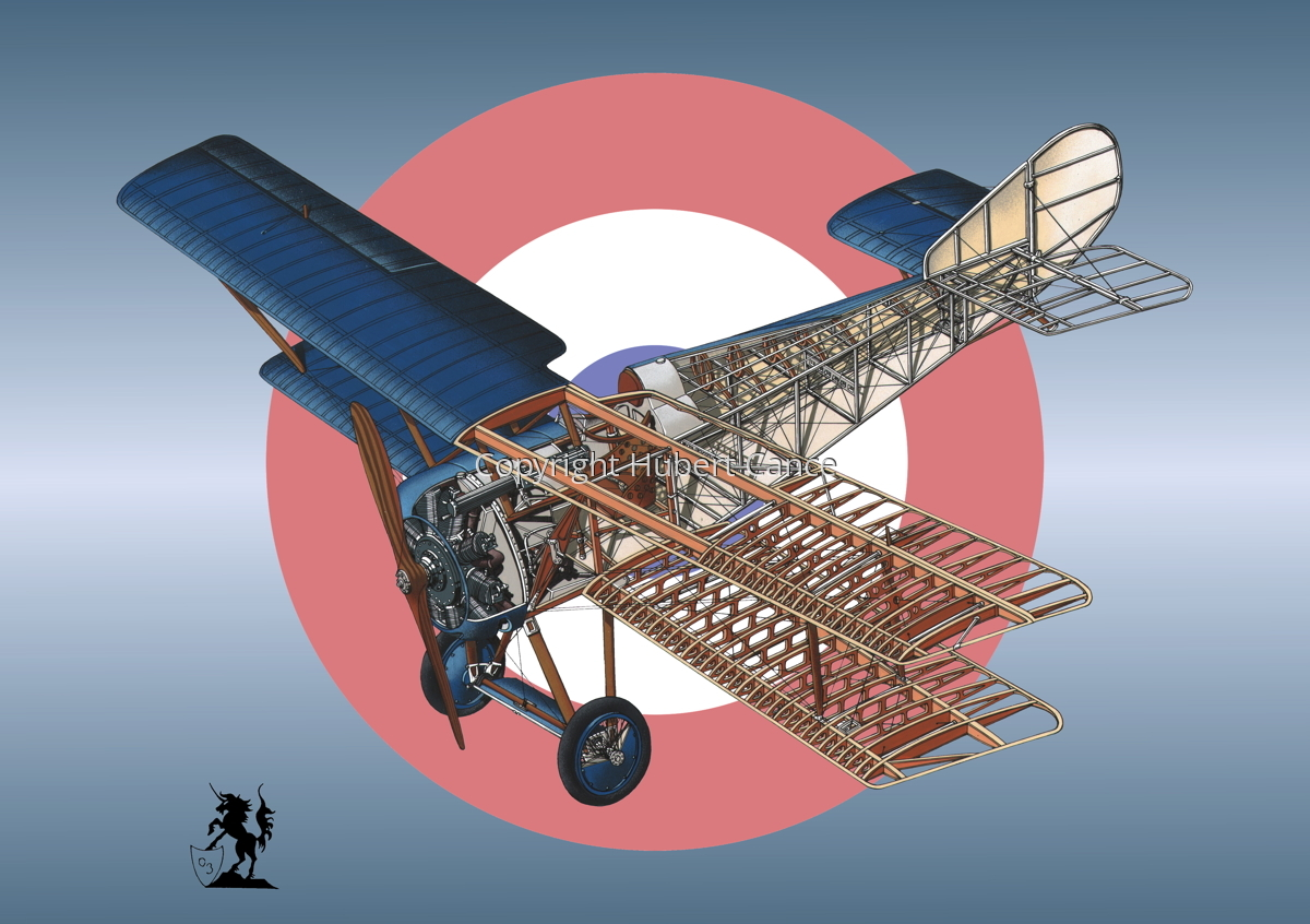 Hanriot HD.1 (Roundel #11) (large view)