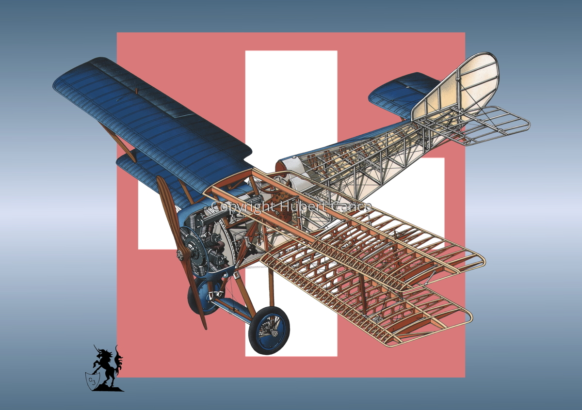 Hanriot HD.1 (Roundel #12) (large view)