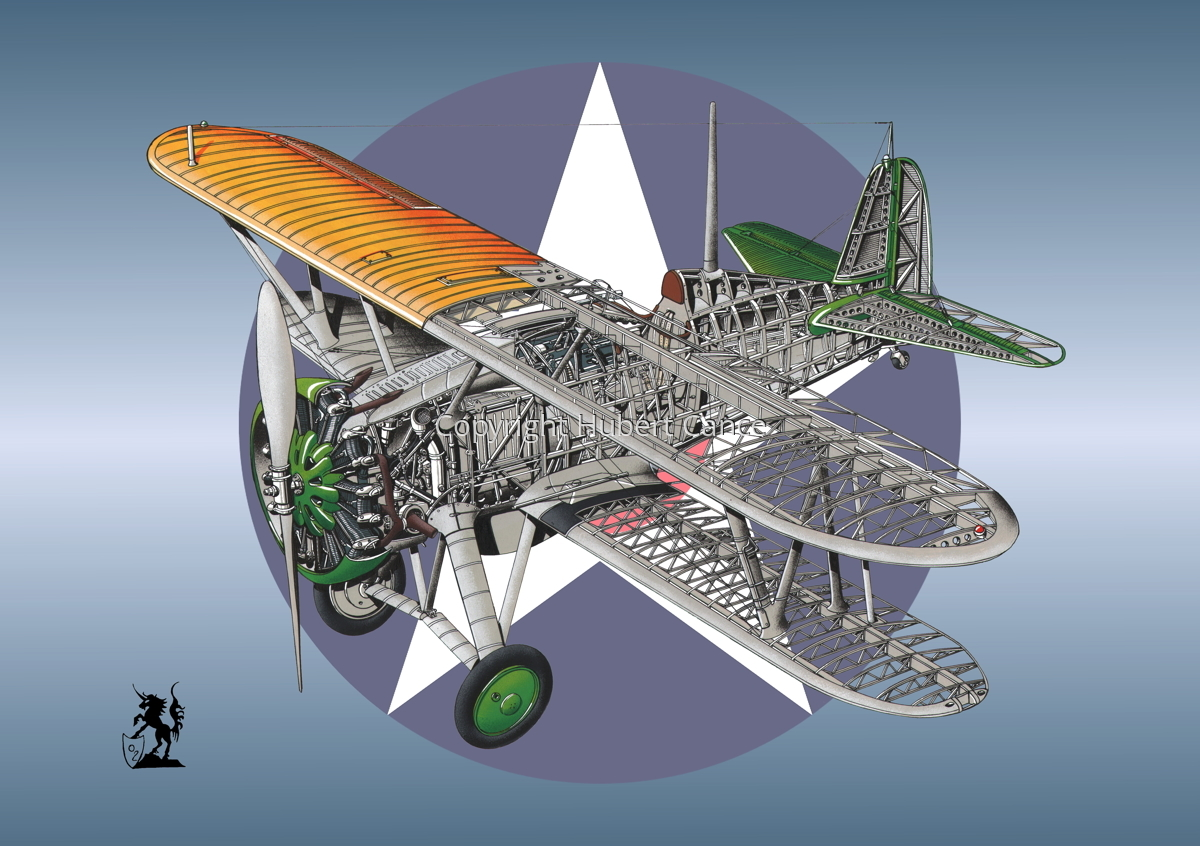 Boeing F4B-3 (Roundel #1) (large view)