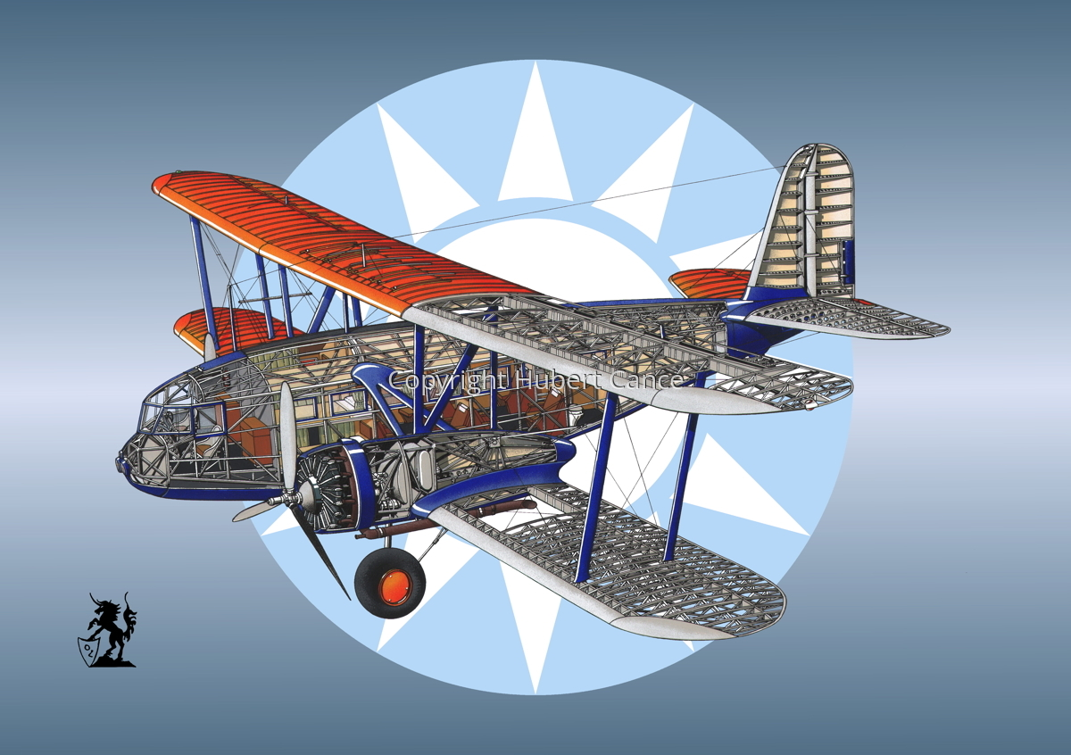 """Curtiss F32 """"Condor"""" (Roundel #2) (large view)"""