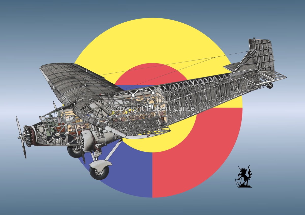"""Ford 5-AT-B """"Trimotor"""" (Roundel #2) (large view)"""