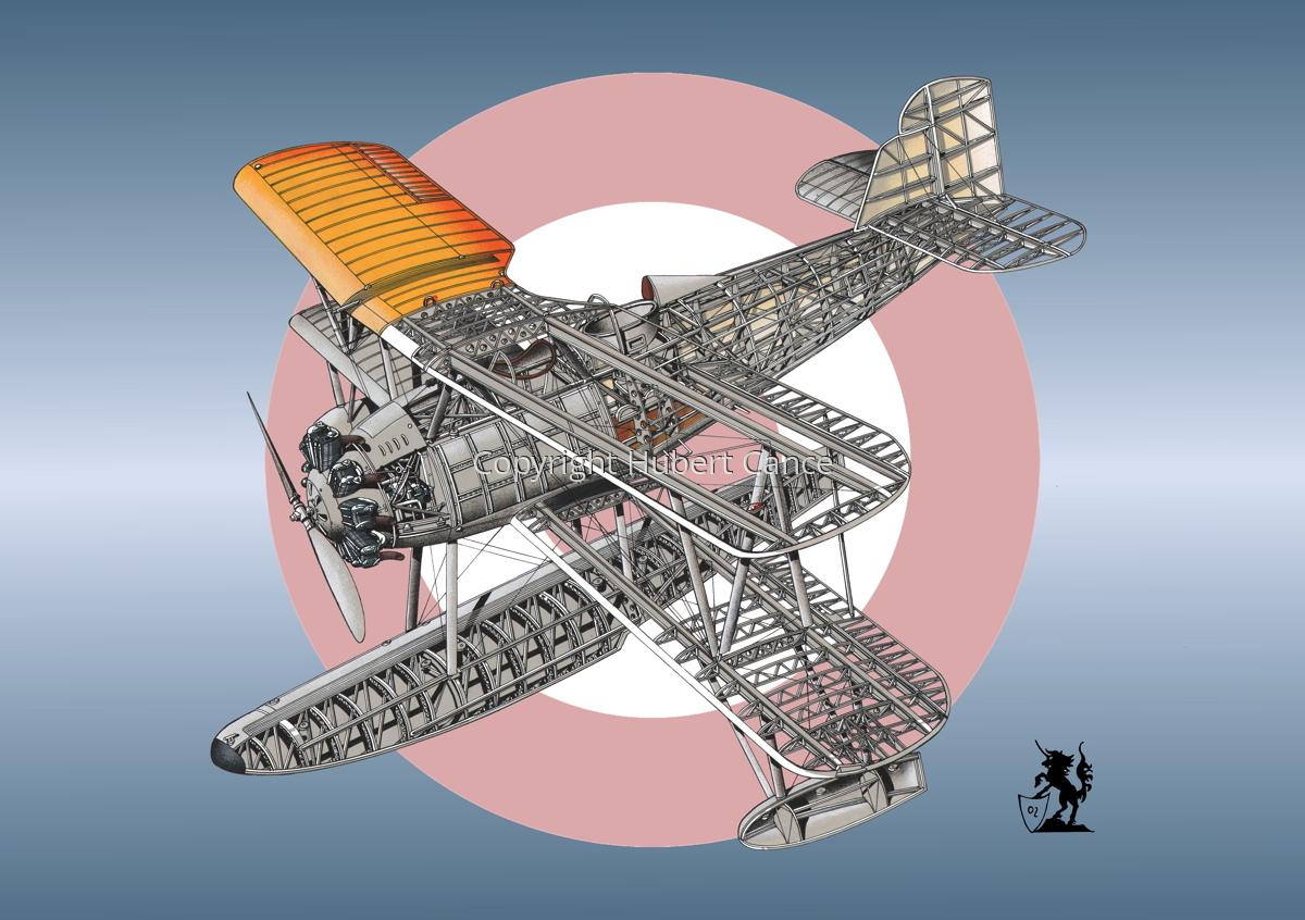 """Vought 02U-1 """"Corsair"""" (Roundel #6) (large view)"""