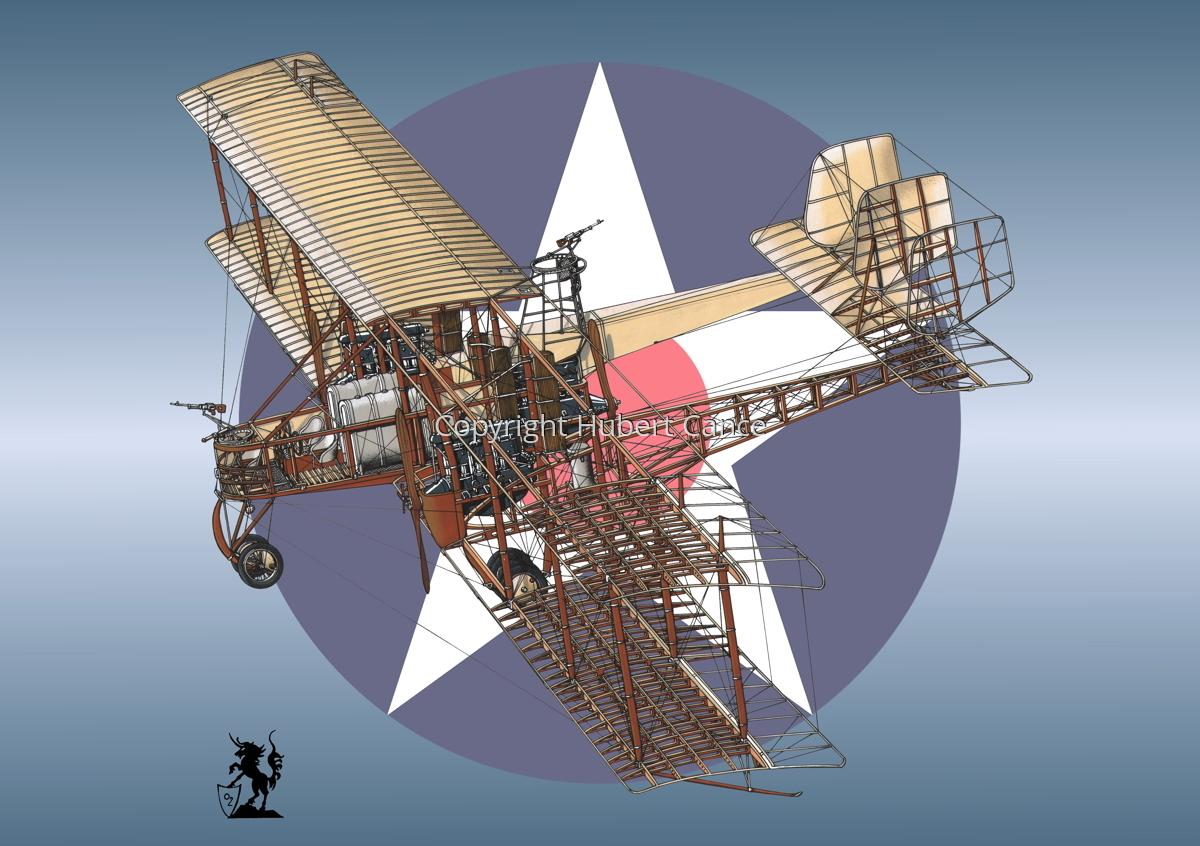 Caproni Ca.3 (Roundel #5) (large view)