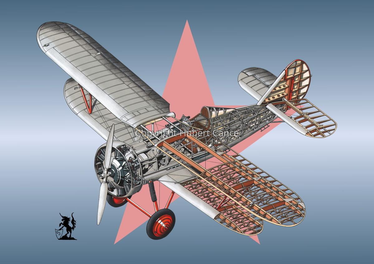 Polikarpov I.5 (Roundel #1) (large view)
