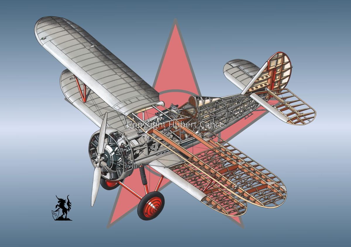 Polikarpov I.5 (Roundel #3) (large view)