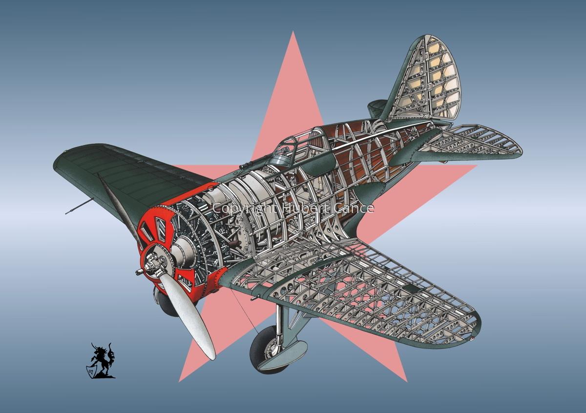Polikarpov I.16 Type 5 (Roundel #1) (large view)