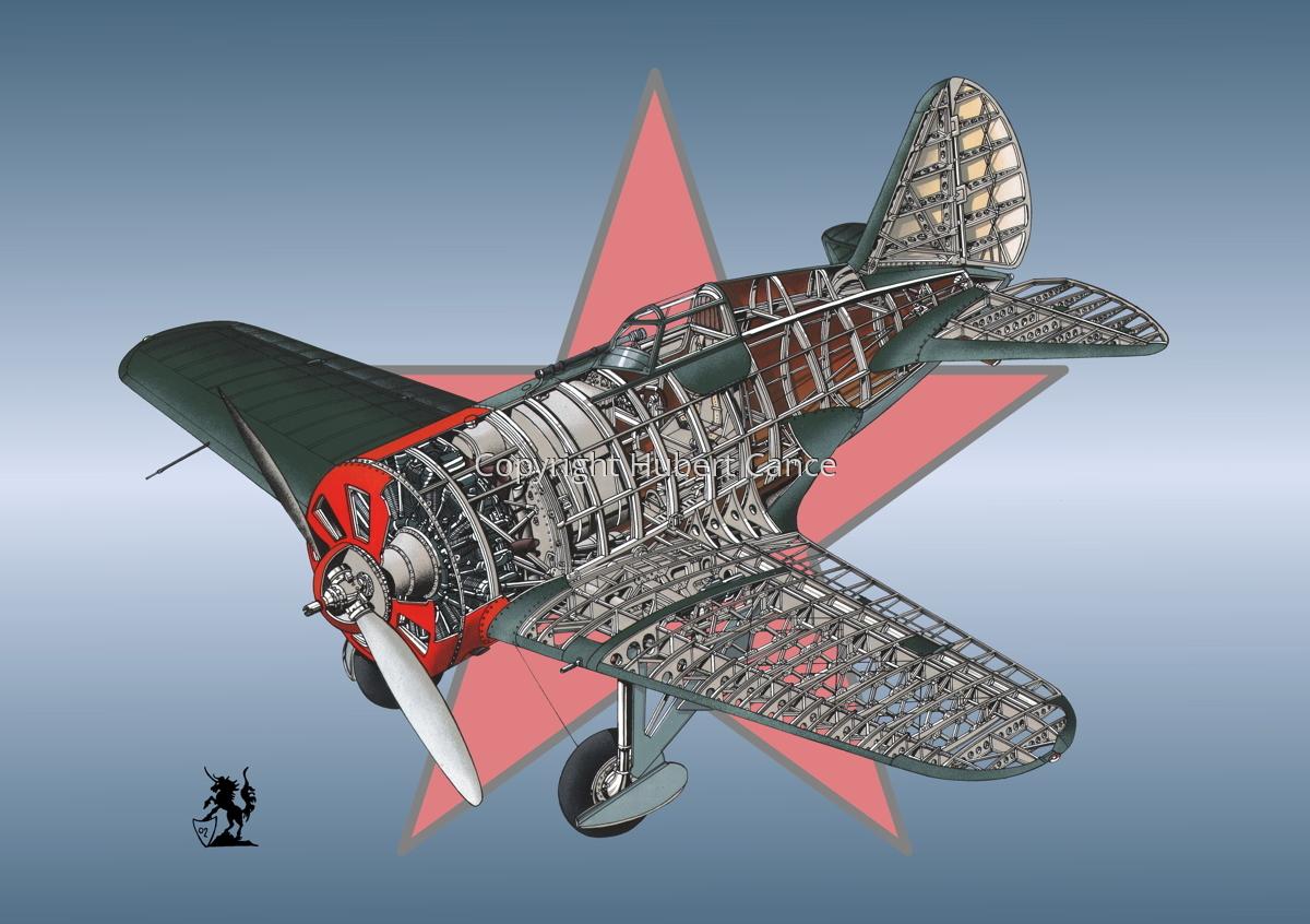 Polikarpov I.16 Type 5 (Roundel #3) (large view)