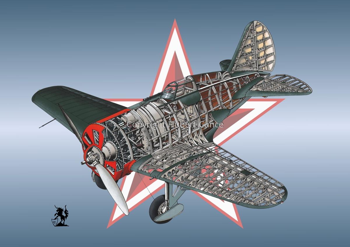 Polikarpov I.16 Type 5 (Roundel #4) (large view)