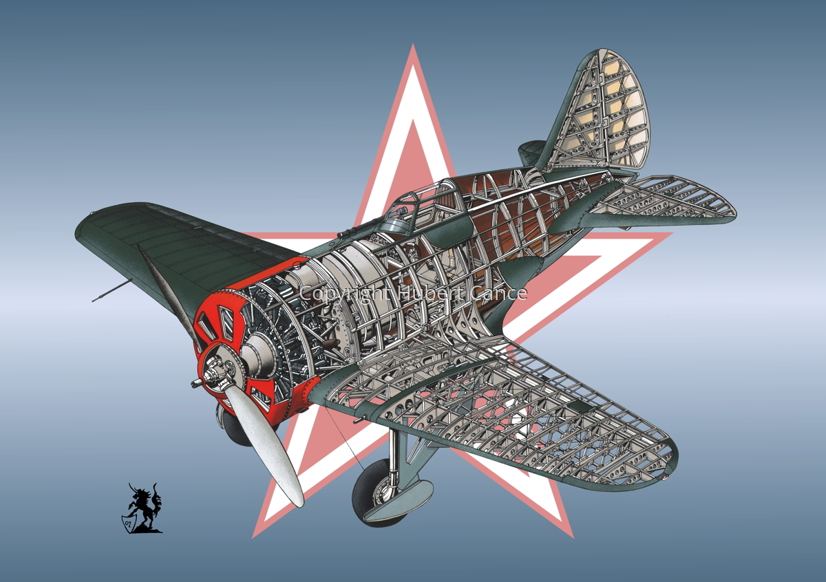 Polikarpov I.16 Type 5 (Roundel #5) (large view)