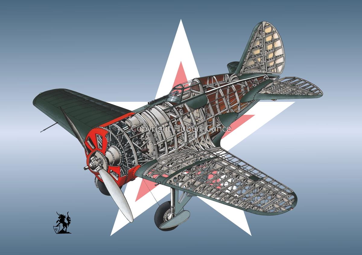 Polikarpov I.16 Type 5 (Roundel #6) (large view)