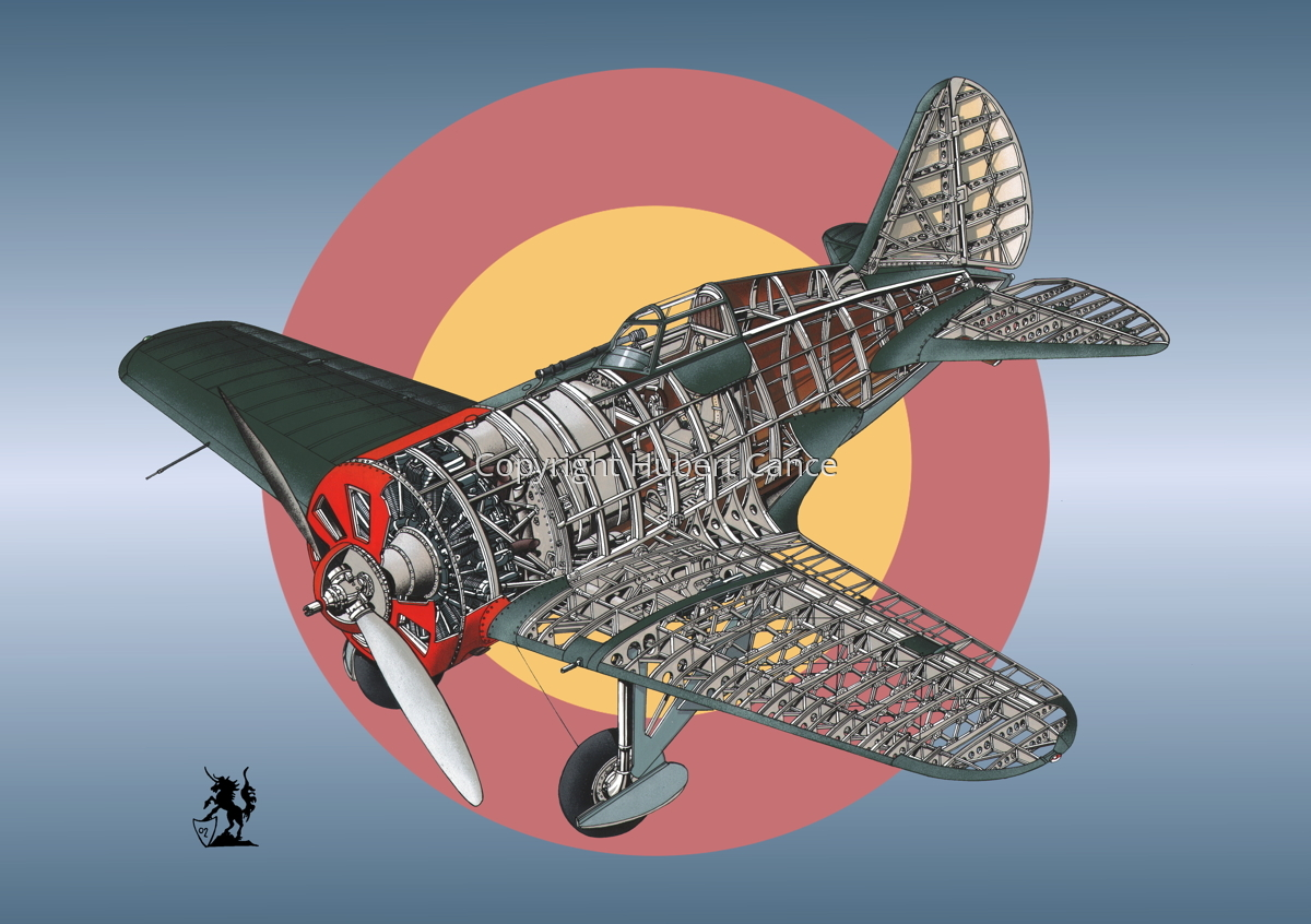 Polikarpov I.16 Type 5 (Roundel #8) (large view)