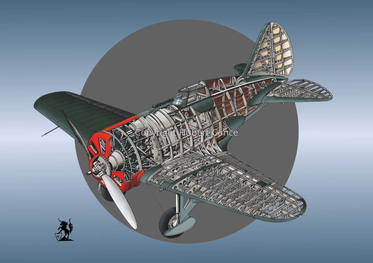Polikarpov I.16 Type 5 (Roundel #9) (large view)