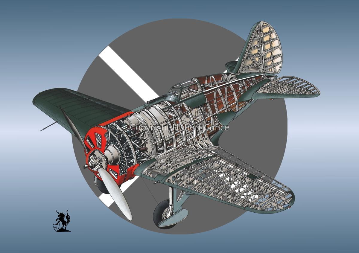 Polikarpov I.16 Type 5 (Roundel #10) (large view)