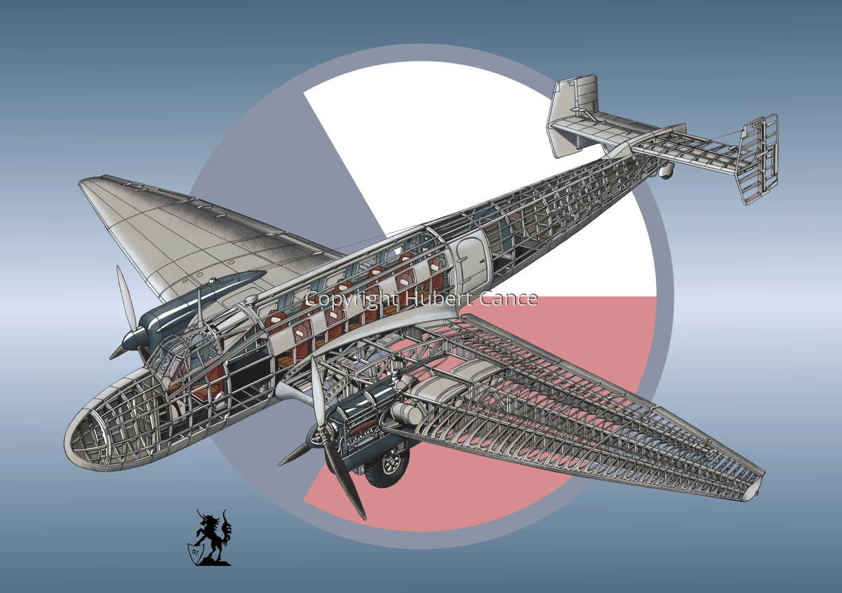Junkers Ju 86 C1 (Roundel #1) (large view)