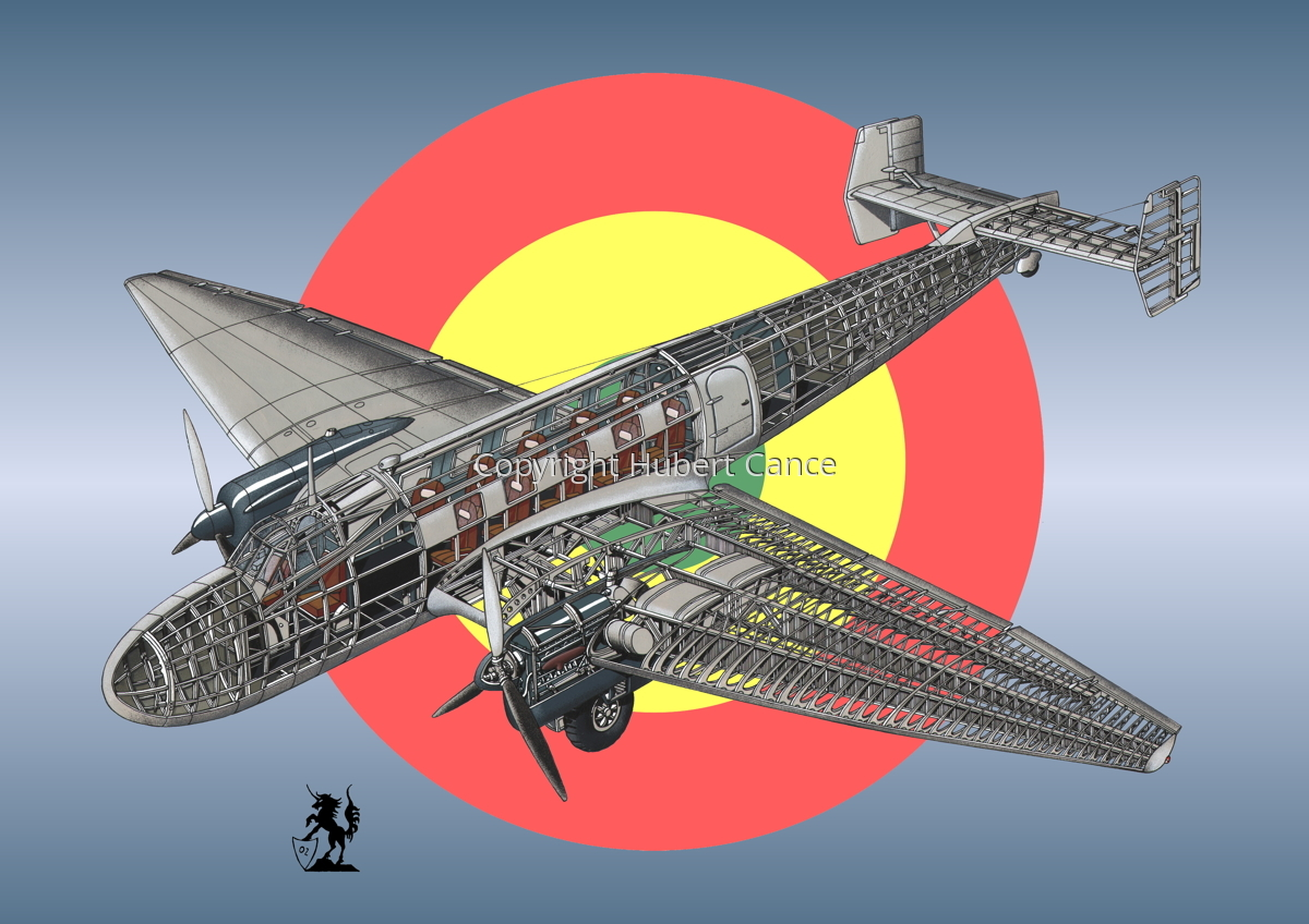 Junkers Ju 86 C1 (Roundel #2) (large view)