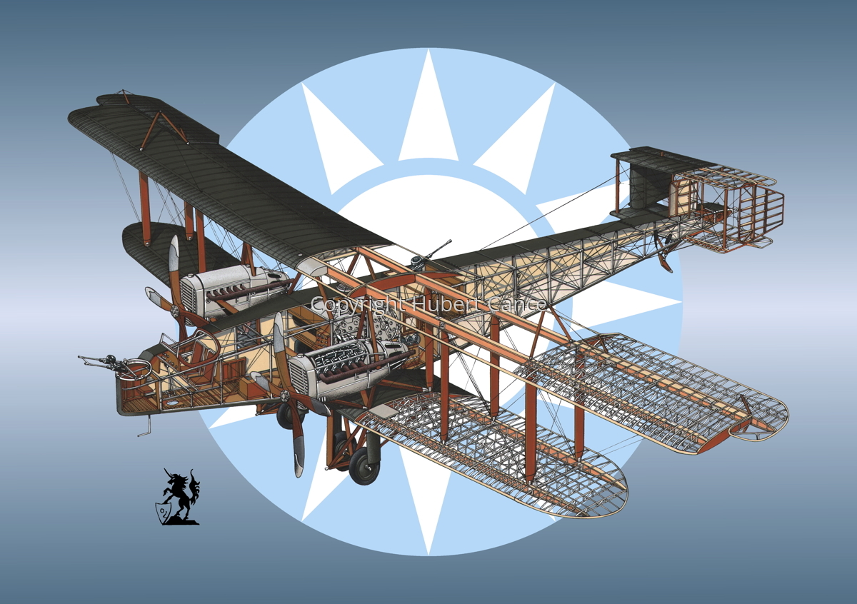 Handley Page O/400 (Roundel #6) (large view)