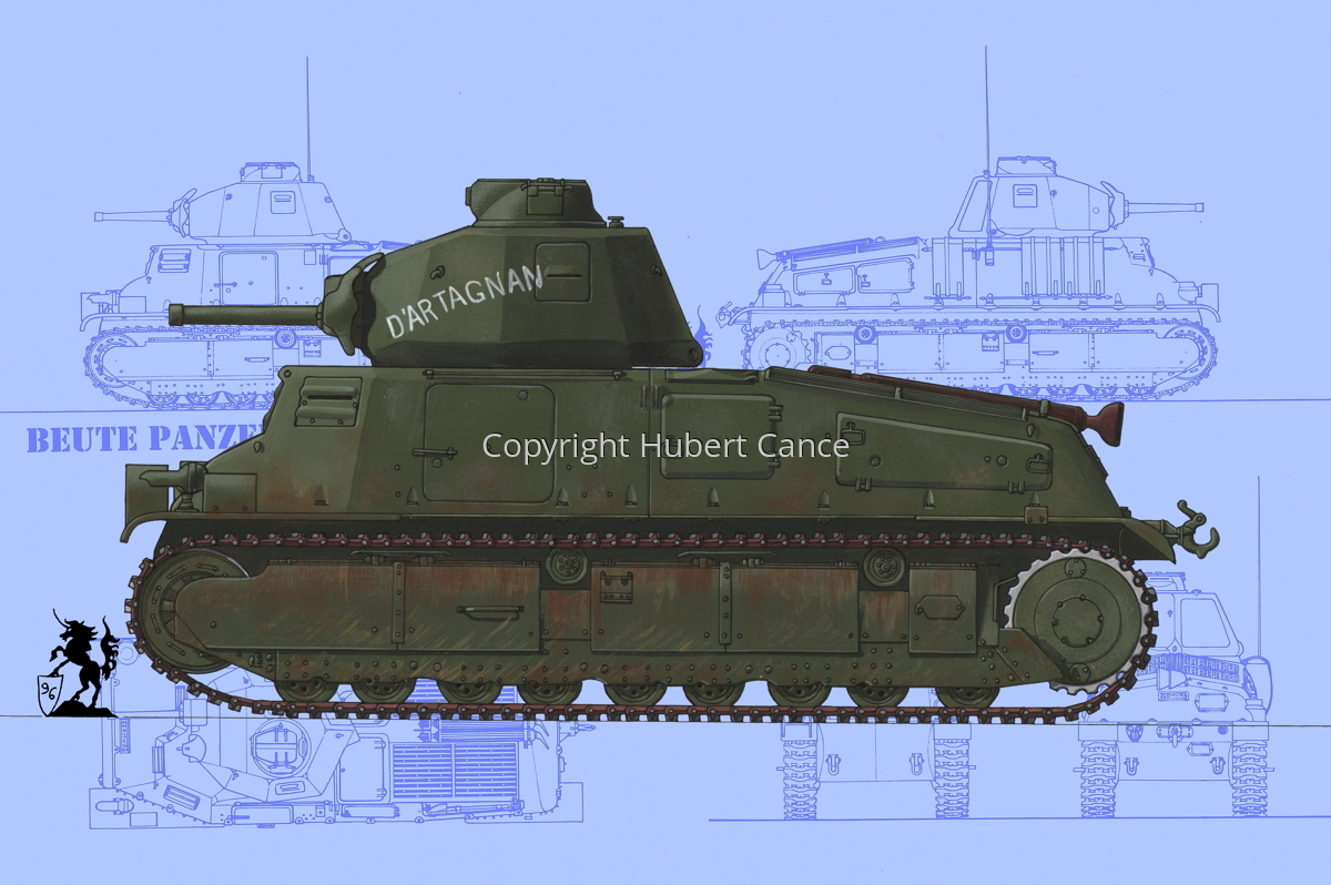 Somua S35 (Blueprint #1) (large view)