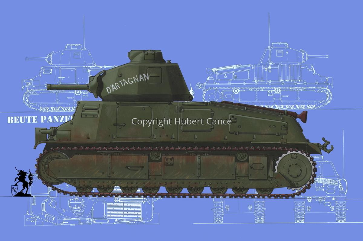 Somua S35 (Blueprint #2) (large view)