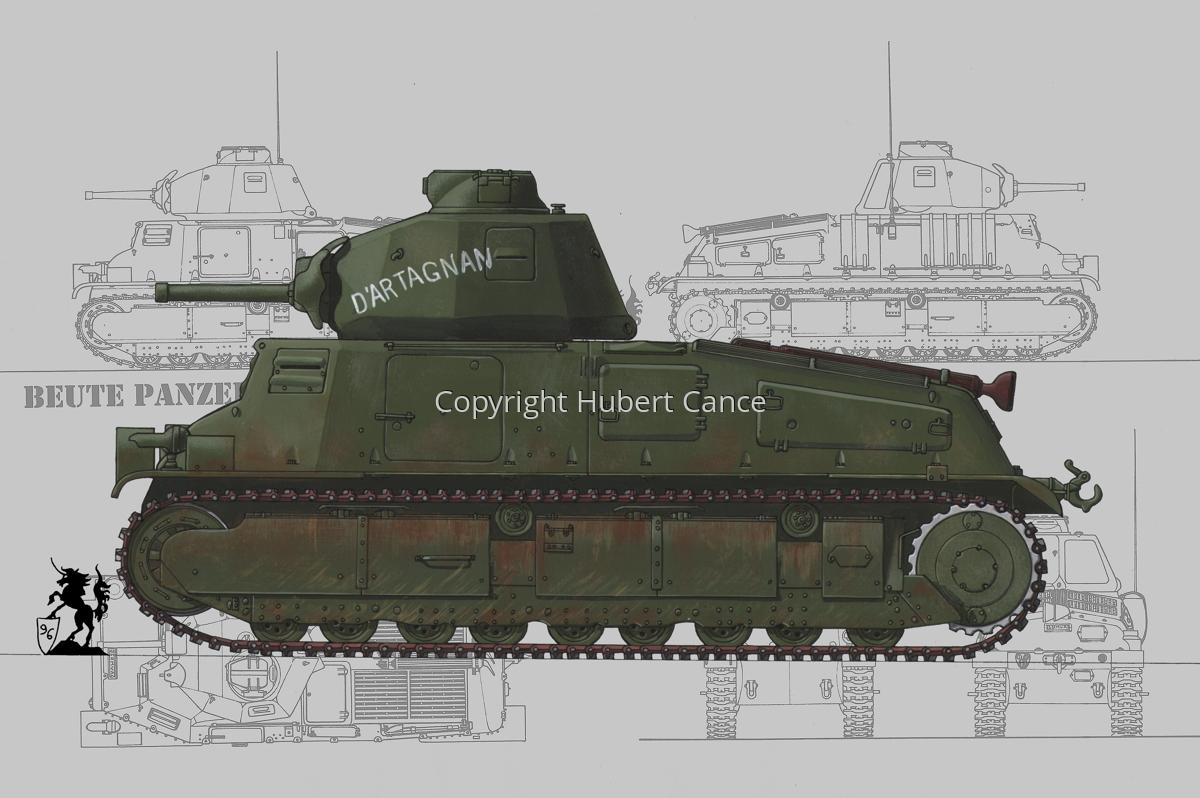 Somua S35 (Blueprint #3) (large view)