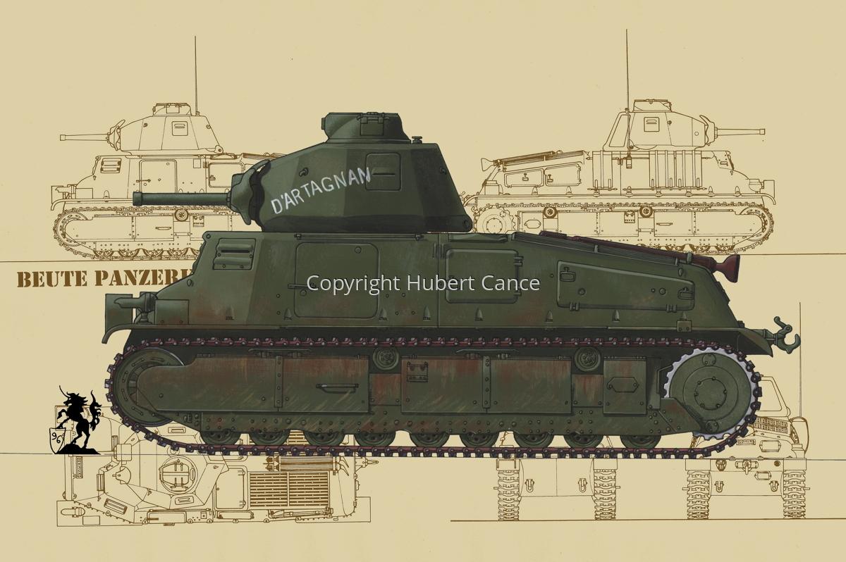 Somua S35 (Blueprint #5) (large view)