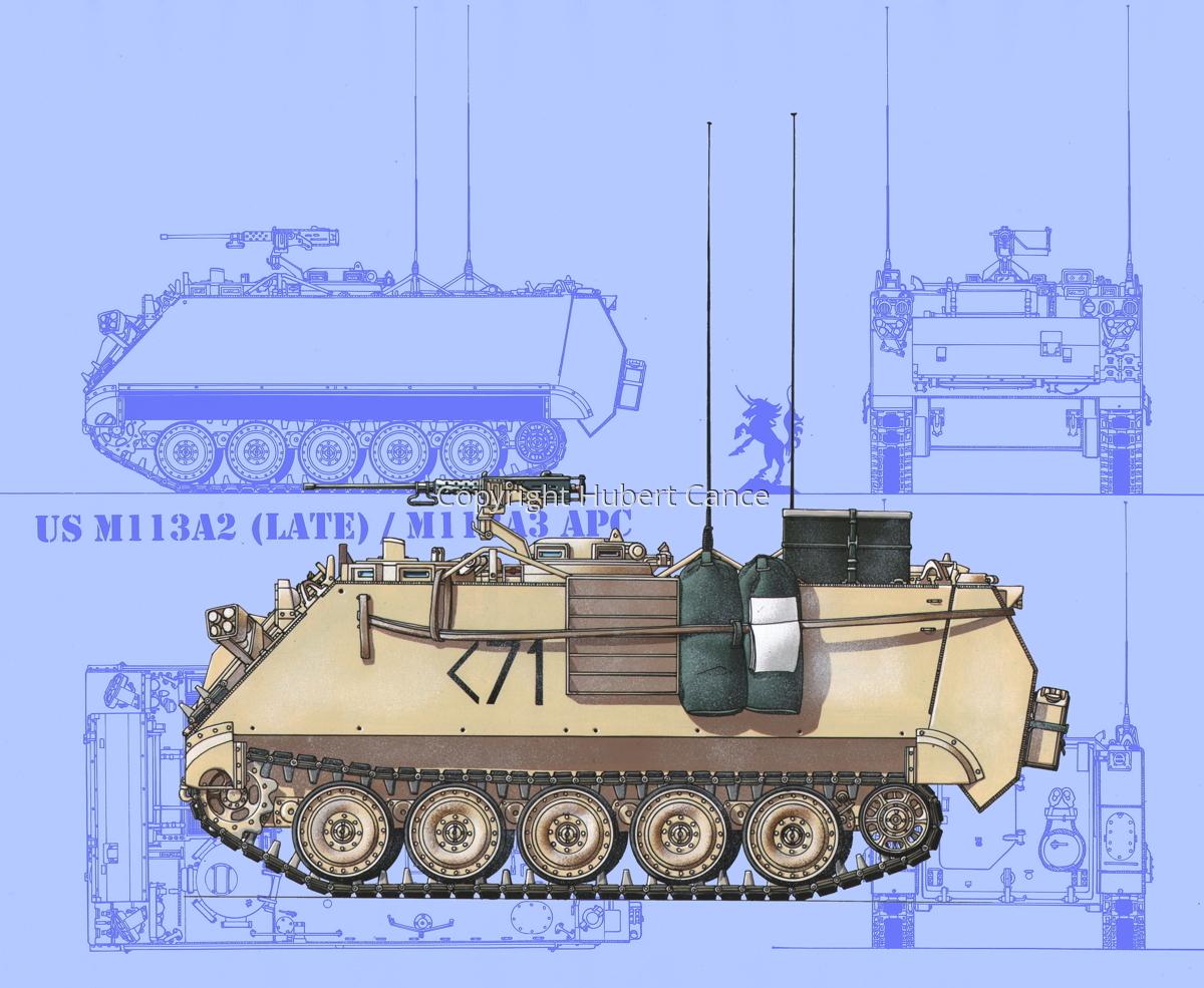 M113A3 (Blueprint #1) (large view)